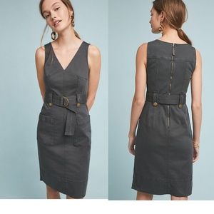 NEW Anthropologie Oona Utility Dress